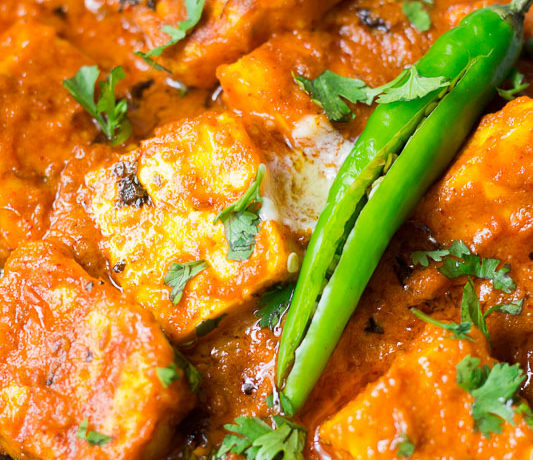Keto Paneer Makhani ( Low carb) recipe
